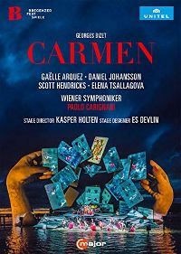 Cover Wiener Symphoniker / Gaëlle Arquez / Daniel Johansson / Scott Hendricks / Elena Tsallagova - Carmen - Bregenzer Fest Spiele [DVD]